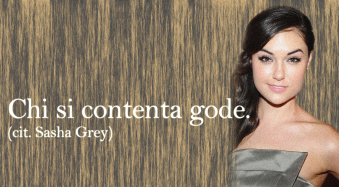 Dotta citazione di Sasha Grey